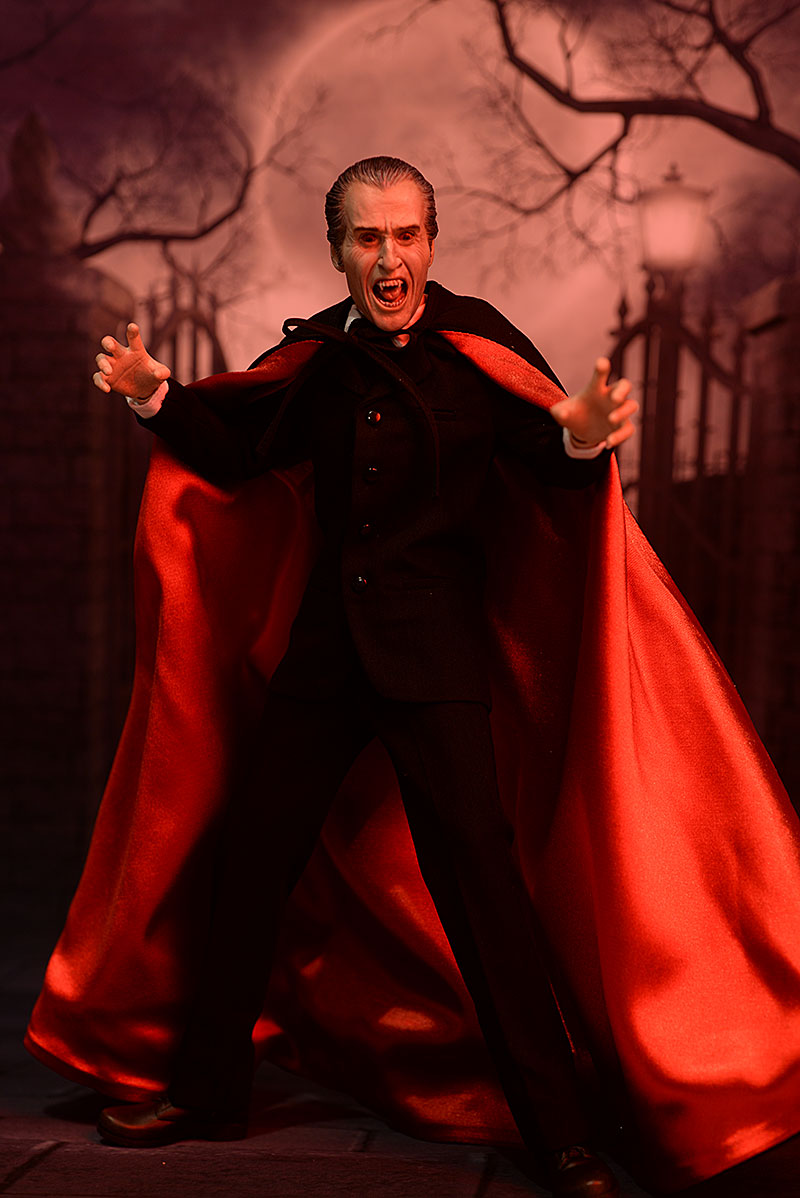 Christopher Lee Dracula 1/6th scale action figure by Star Ace