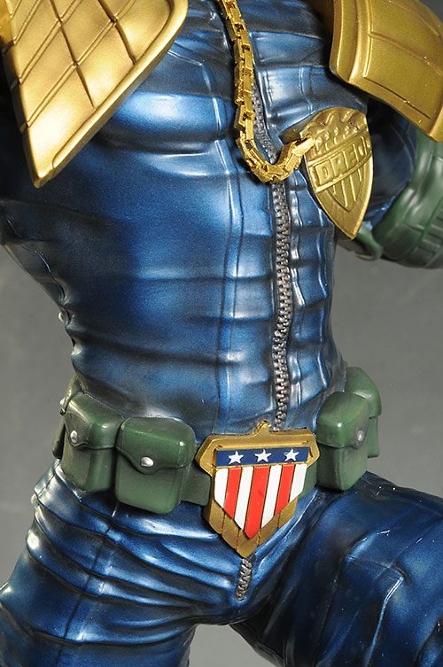 Judge Dredd statue by Pop Culture Shock