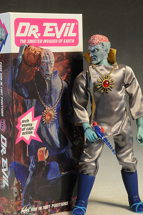 Dr. Evil Captain Action action figure by Round 2