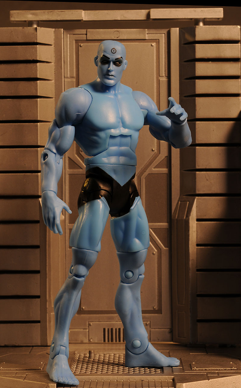 Dr. Manhattan Watchmen action figure by Mattel