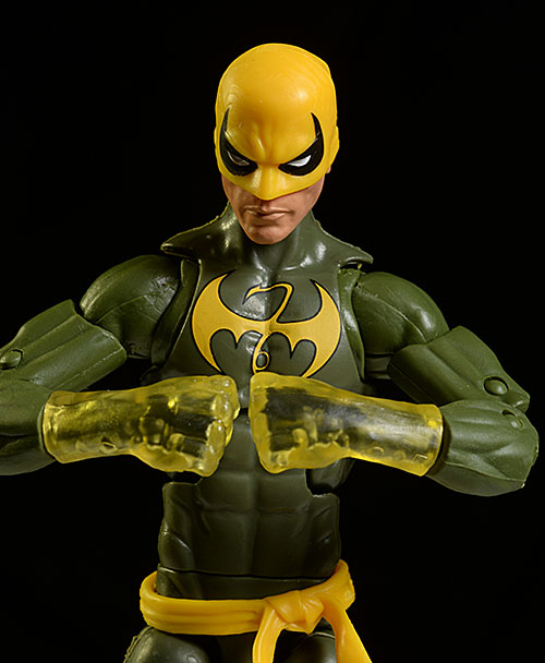 Marvel Legends Iron Fist action figure by Hasbro