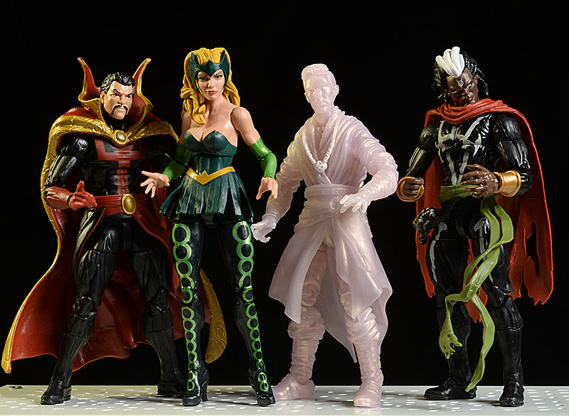 Review and photos of Marvel Legends Doctor Strange, Brother