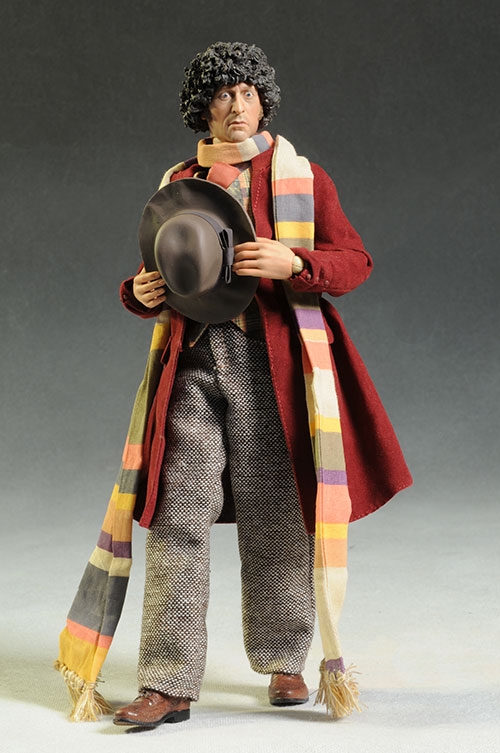 Dr. Who 4th Doctor Tom Baker action figure by Big Chief