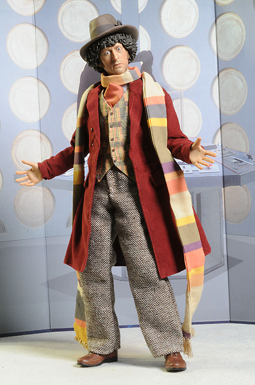 Dr. Who Tom Baker Fourth Doctor action figure by Big Chief & Review and photos of Dr. Who Tom Baker Fourth Doctor action figure ...