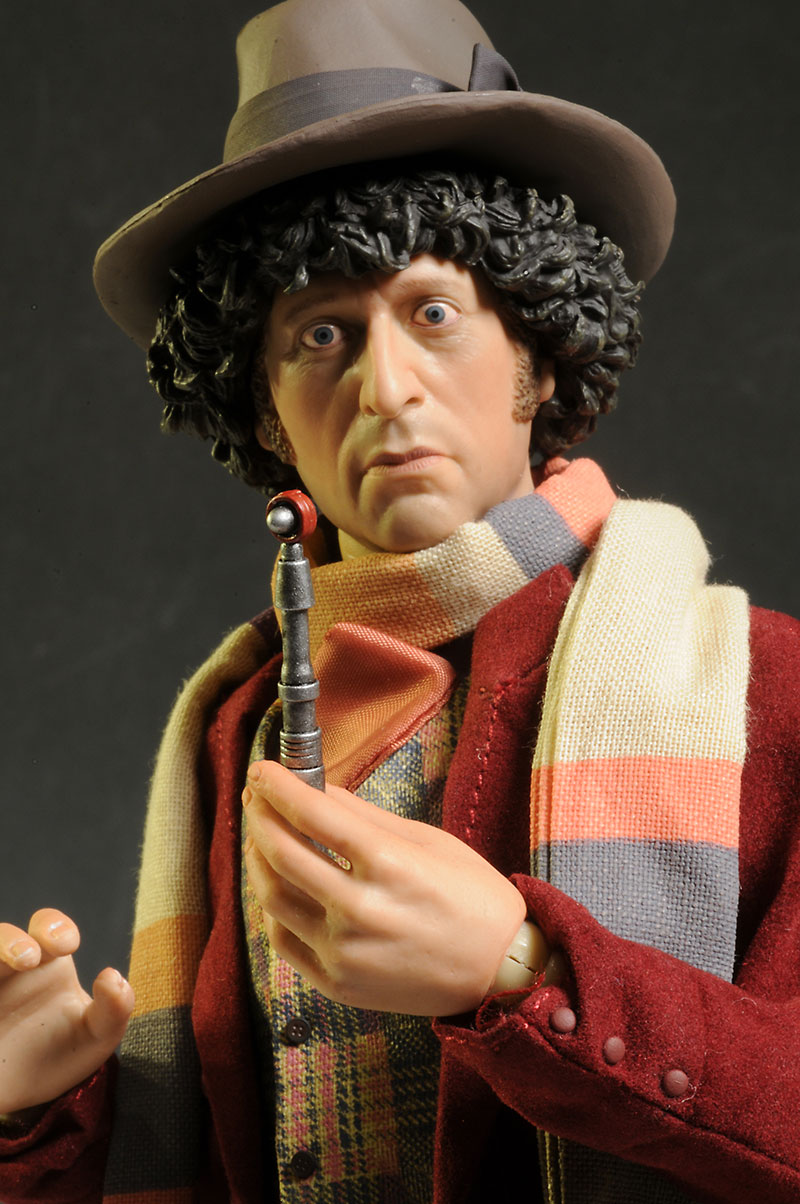 Dr. Who Tom Baker Fourth Doctor action figure by Big Chief