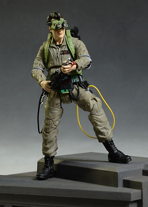 Ghostbusters Ray Stantz action figures by Diamond Select