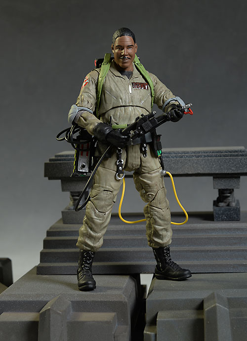 Ghostbusters Winston action figure by Diamond Select