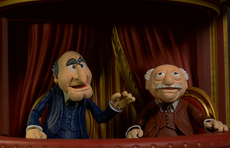 Muppets Statler, Waldorf action figures by DST