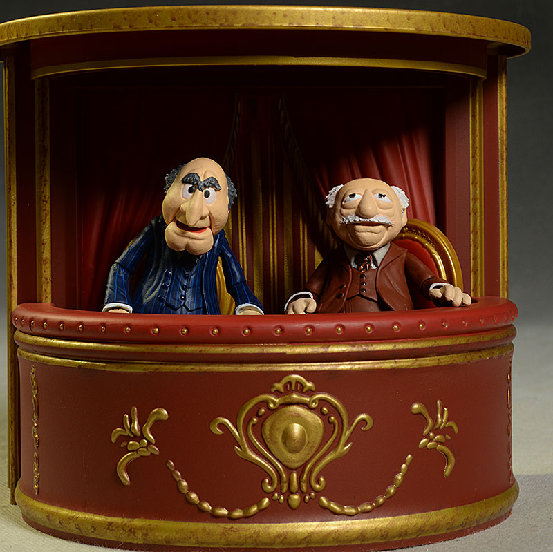 review and photos of dst muppets statler waldorf animal. Black Bedroom Furniture Sets. Home Design Ideas