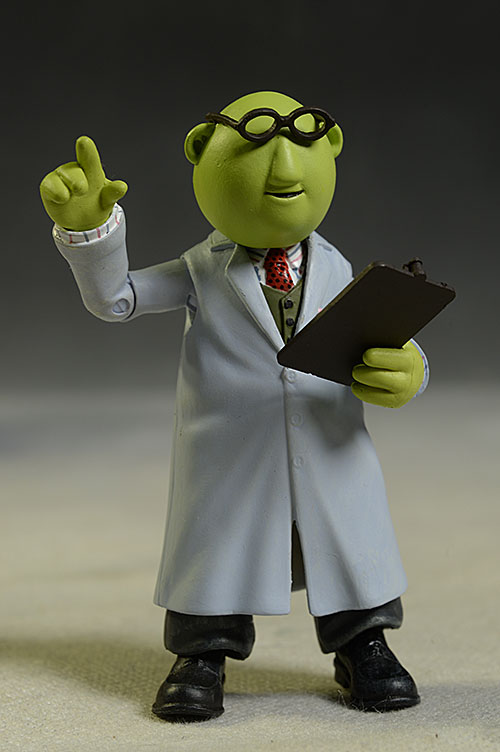 Muppets Bunsen Honeydew action figure by DST