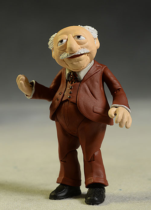 Muppets Waldorf action figures by DST