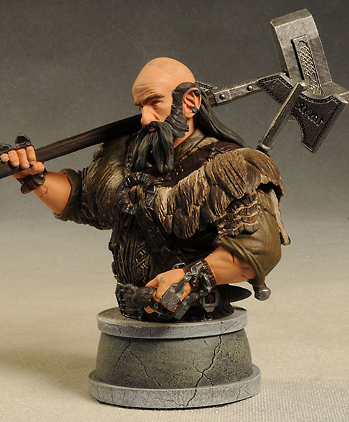 Dwalin from The Hobbit mini-bust from Gentle Giant