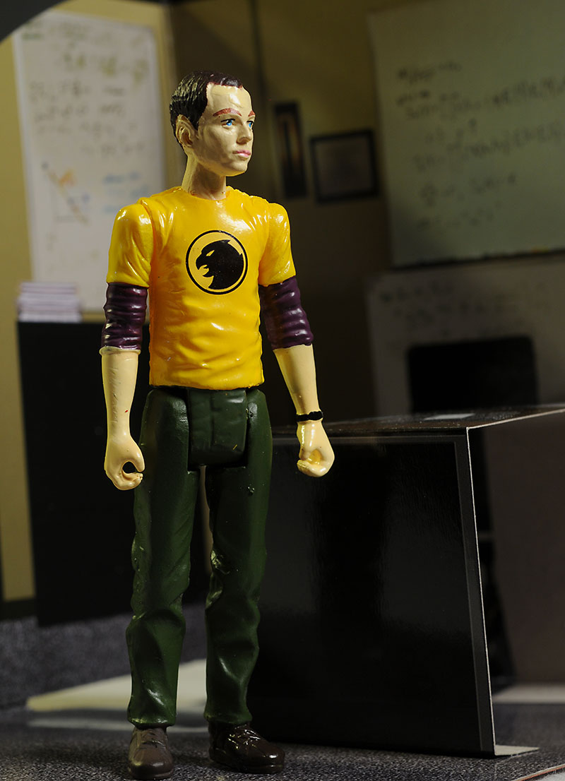 Big Bang Theory Sheldon action figure by BifBangPow