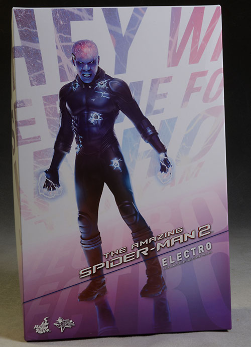Amazing Spider-Man 2 Electro action figure by Hot Toys