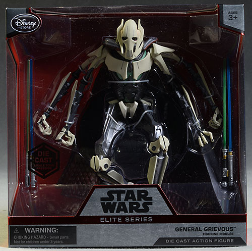 Star Wars General Grievous elite Disney diecast