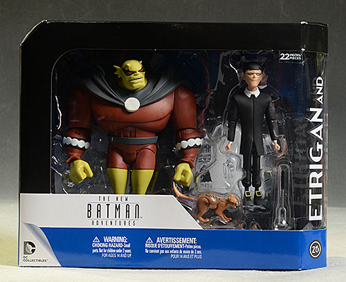 TNBA Etrigan, Klarion animated action figures by DC Collectibles