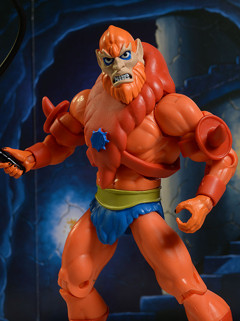 Beastman Filmation Master of the Universe action figure by Mattel