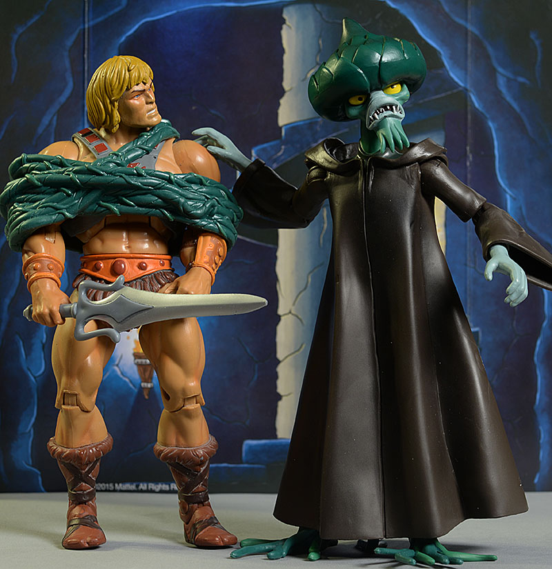 Beastman, Evil Seed Filmation Master of the Universe figures by Mattel