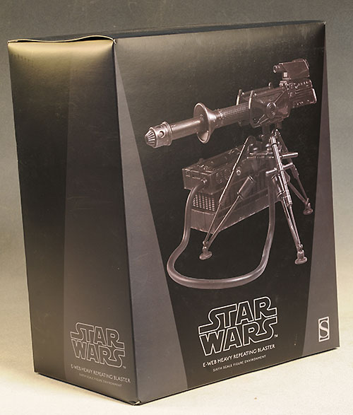 E-Web Blaster Star Wars sixth scale weapon by Sideshow Collectibles
