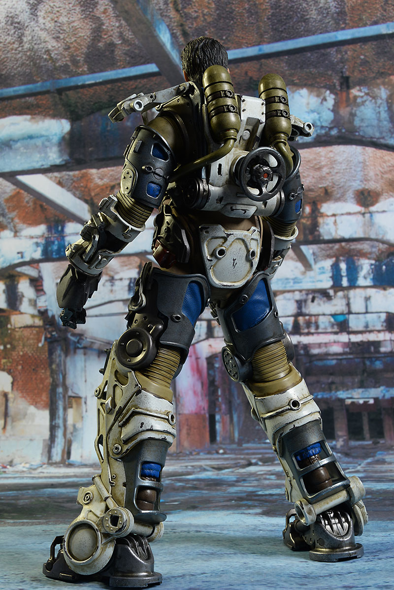 Fallout 4 T-45 Power Armor sixth scale figure by ThreeZero