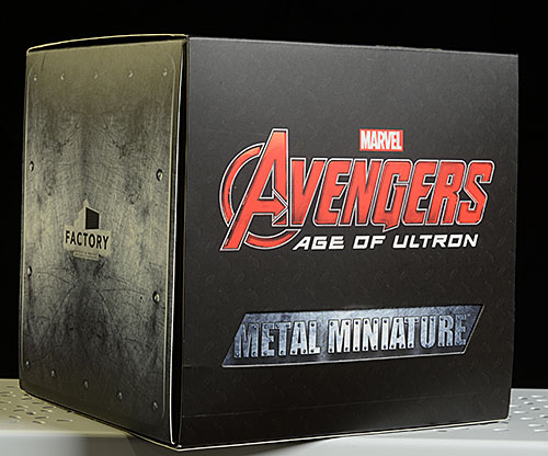 Avengers Metal Miniatures die cast figures by Factory Entertainment