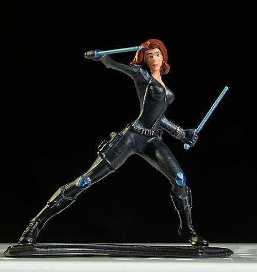 Avengers Black Widow Metal Miniatures die cast figures by Factory Entertainment