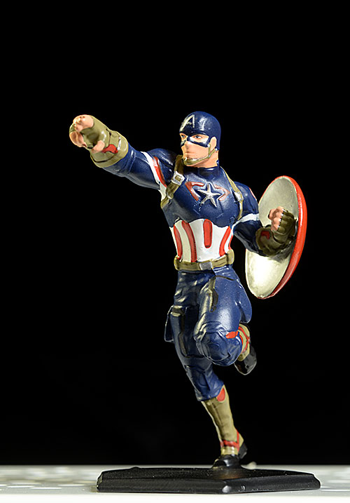 Avengers Captain America Metal Miniatures die cast figure by Factory Entertainment