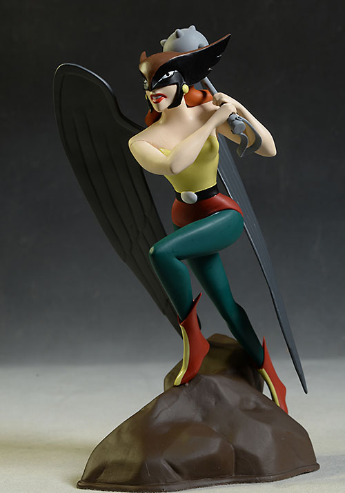 Femme Fatales animated Hawkgirl statue by DST