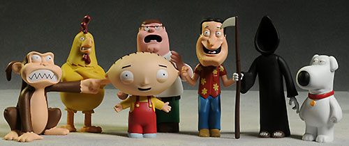 Walgreens Family Guy figures