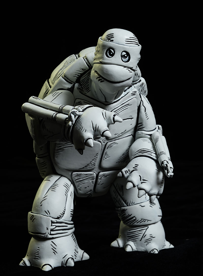 TMNT First Turtle exclusive action figure by Mondo