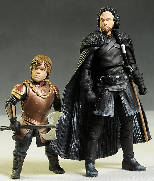 Tyrion and Jon Snow Game of Thrones action figure by Funko