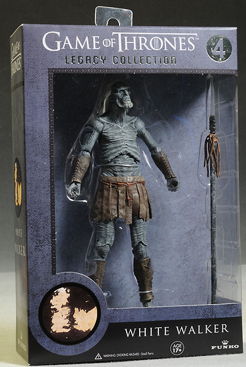 Game of Thrones Hound, White Walker, Ned Stark action figures by Funko
