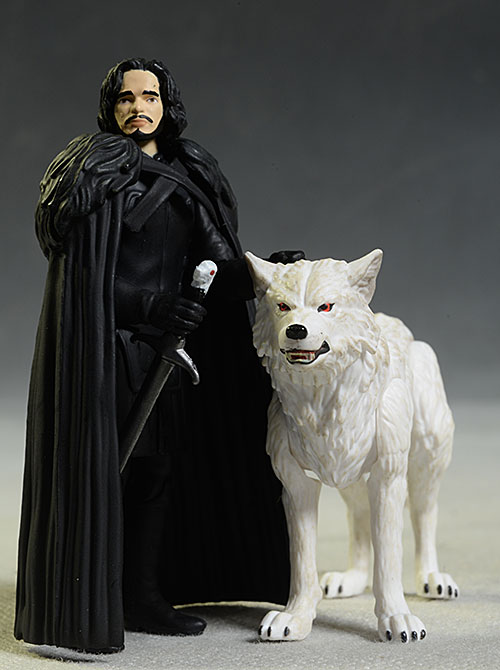 Jon Snow, Ghost Game of Thrones action figure by Funko