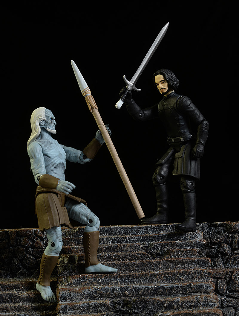 Jon Snow, White Walker Game of Thrones action figure by Funko