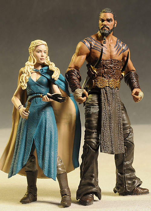Game Of Thrones Toys : Review and photos of game thrones drogo daenerys