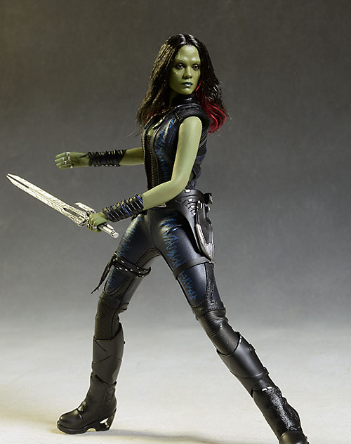 Guardians of the Galaxy Gamora sixth scale action figure by Hot Toys