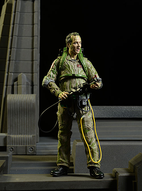 Ghostbusters Slimed Peter Venkman action figure by Diamond Select Toys