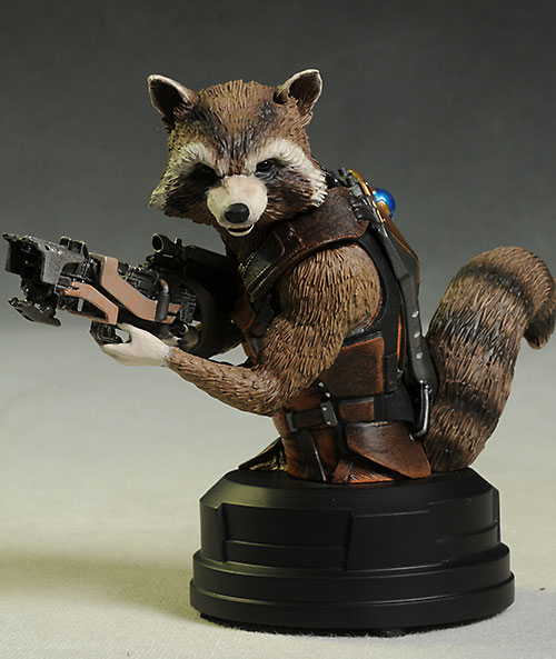 Rocket Raccoon mini-bust by Gentle Giant