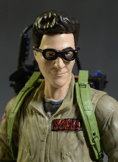 Ghostbuster Egon Spengler action figure by Diamond Select Toys