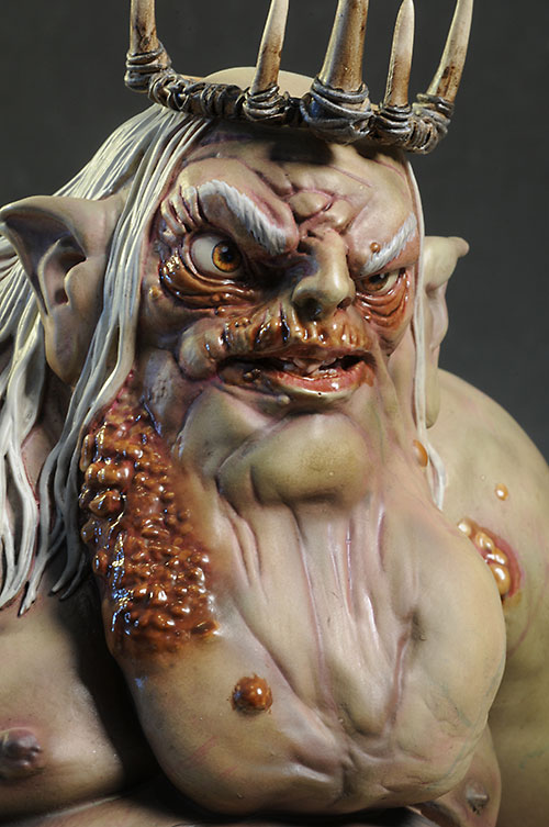 Goblin King The Hobbit mini-bust by Gentle Giant