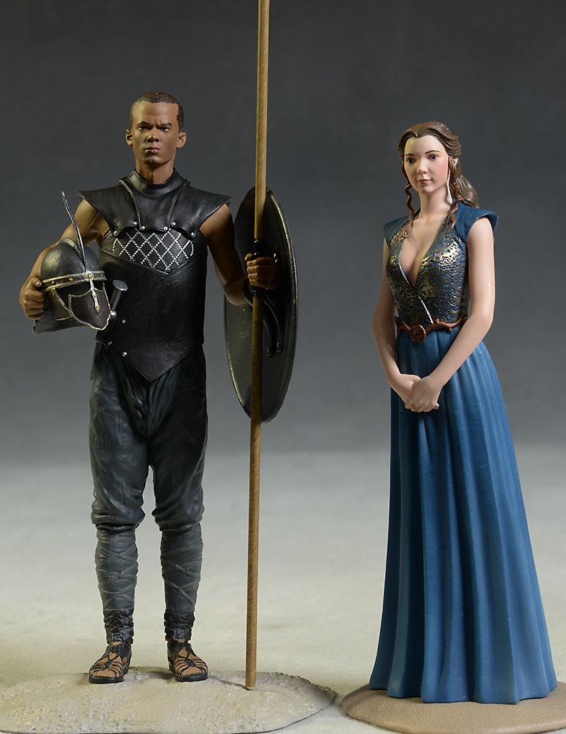 Game of Thrones Margaery, Grey Worm figure by Dark Horse