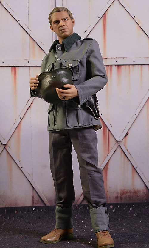 Great Escape Steve McQueen sixth scale figure by Star Ace
