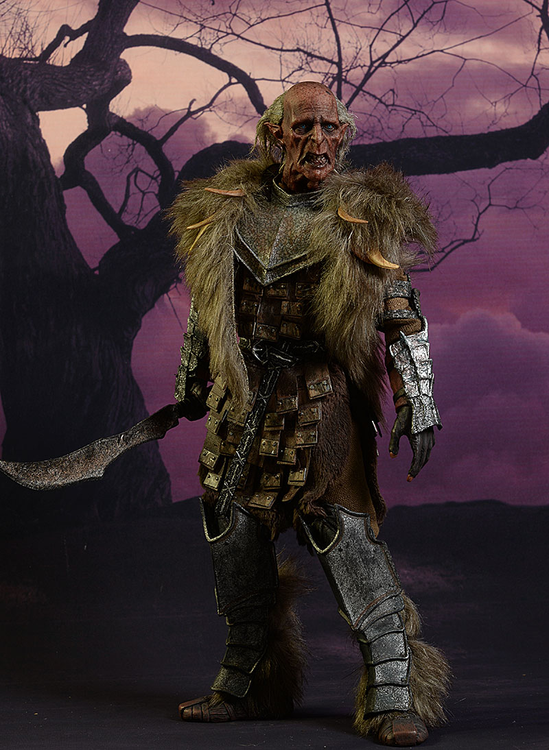 Grishn'akh Lord of the Rings sixth scale figure by Asmus