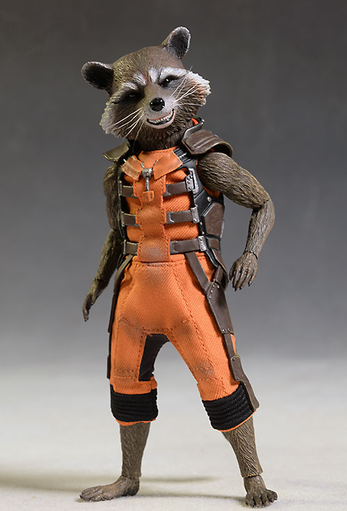 Rocket, Groot 1/6th action figures by Hot Toys