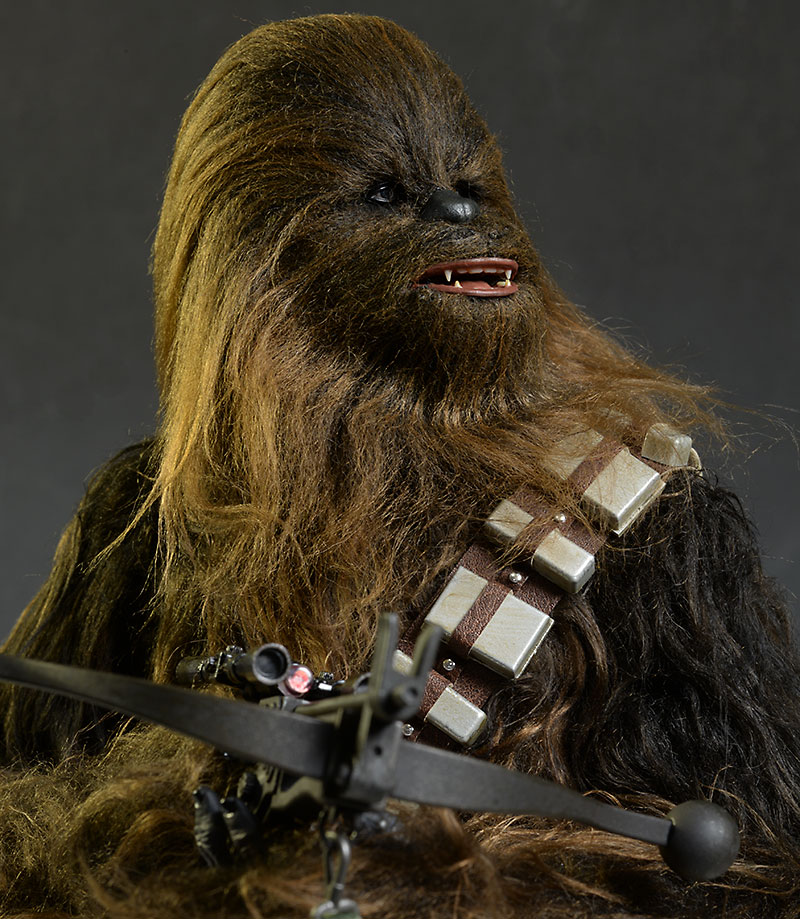 Star Wars Chewbacca sixth scale action figure by Hot Toys