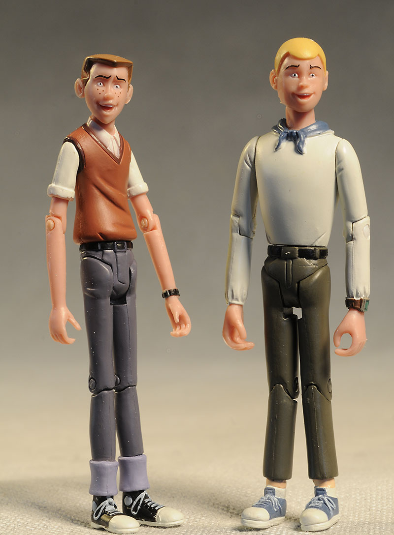 Hank and Dean Venture Brothers action figures by BifBangPow