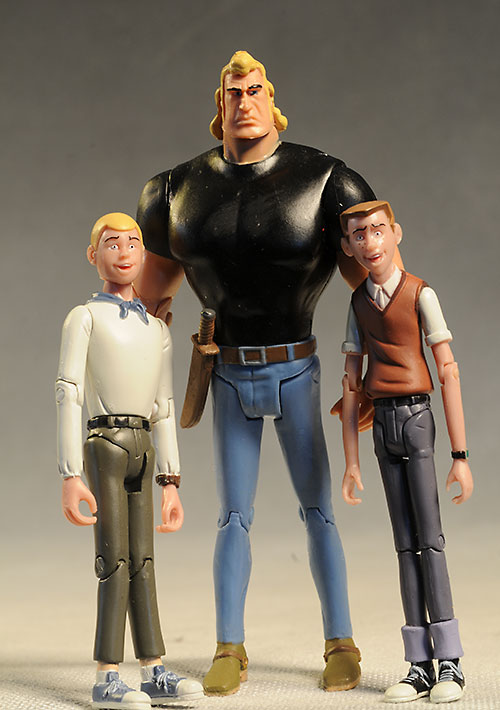 Hank, Dean Venture Brothers action figures by BifBangPow