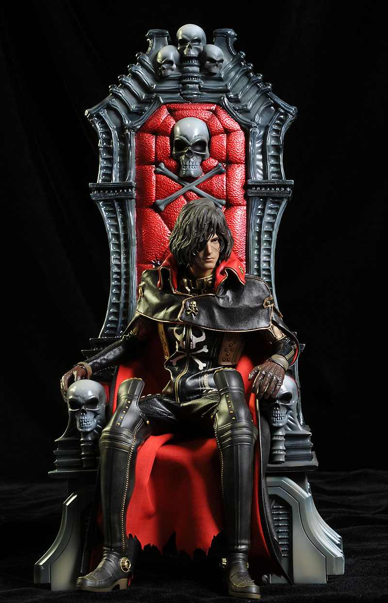 Hot Toys Captain Harlock action figure