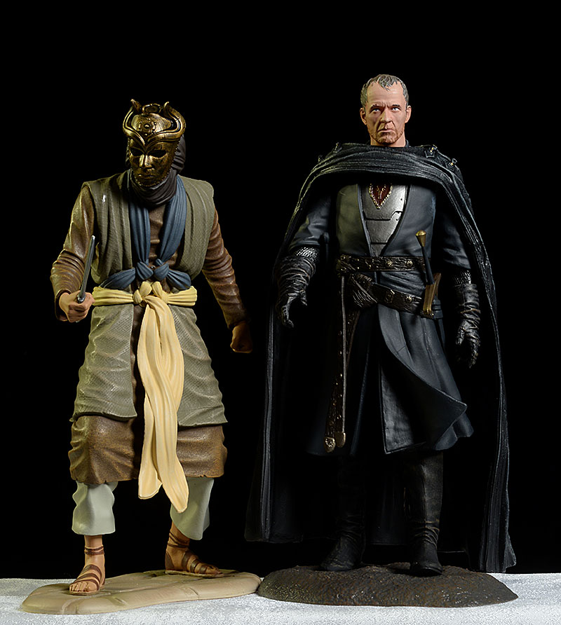 Game of Thrones Stannis Baratheon, Son of the Harpy action figures by Dark Horse