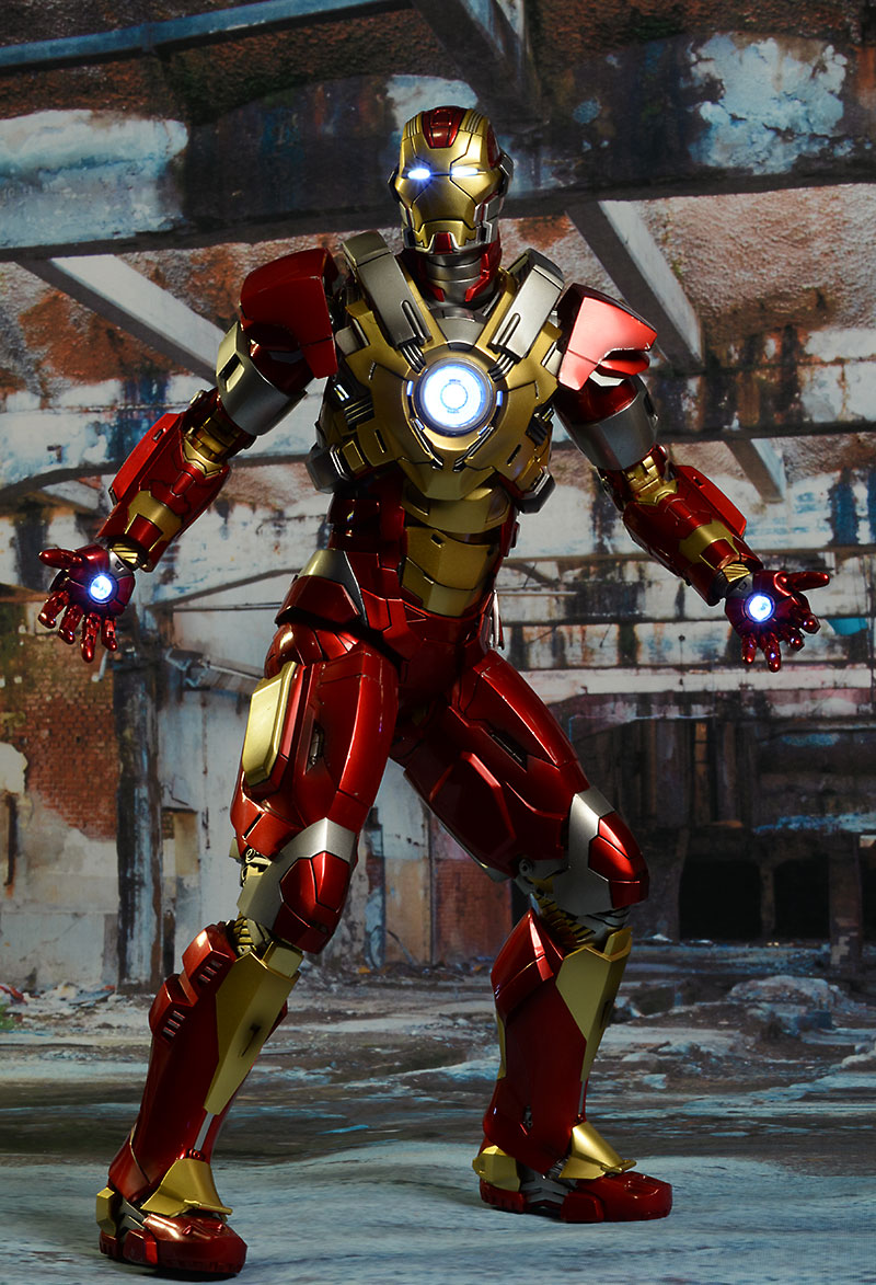 Iron Man Heartbreaker 1/6th action figure from Hot Toys